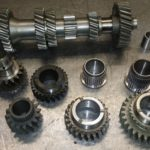 Type 9 semi helical gearset