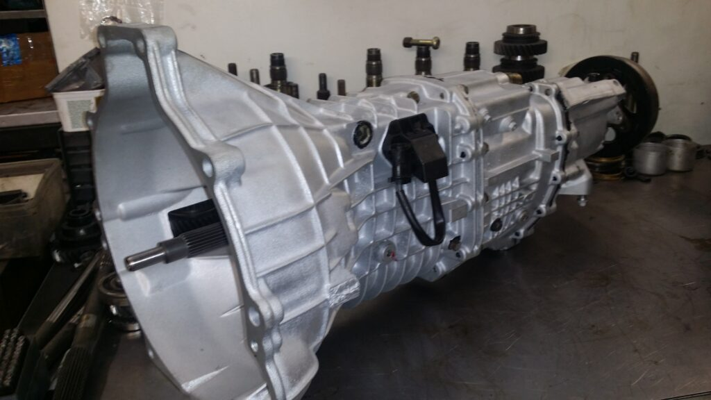 Ford MT75 Gearbox